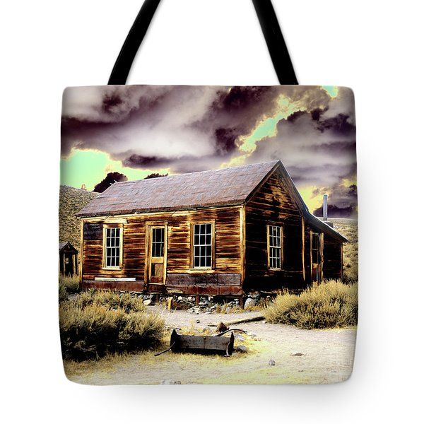 Tote Bag featuring the photograph Bodie House by Jim and Emily Bush