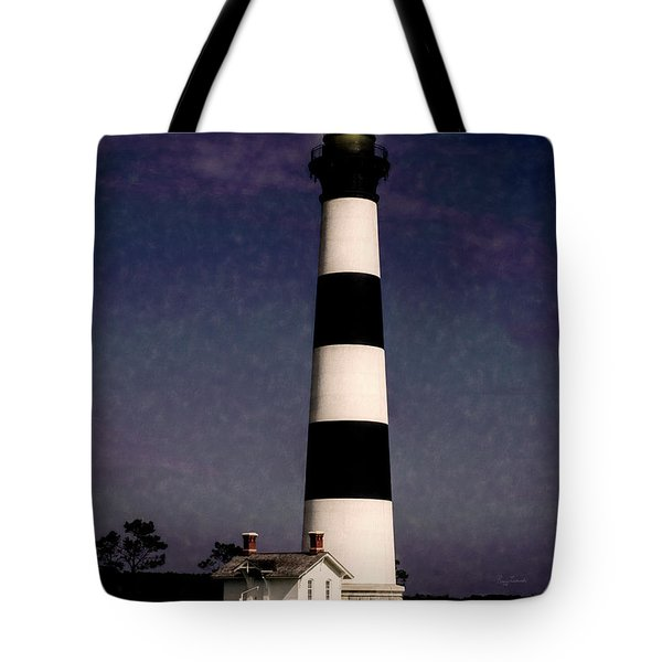 Tote Bag featuring the photograph Bodie Island Light Station by Penny Lisowski