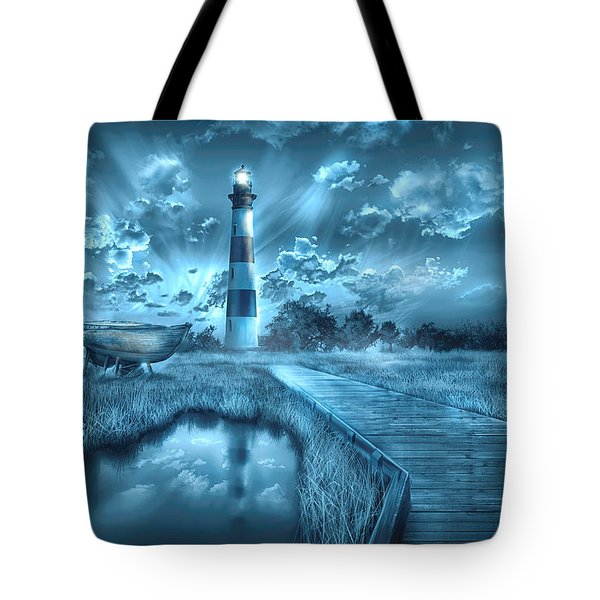 Bodie Island Lighthouse 2 Tote Bag