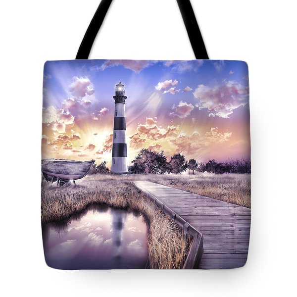 Bodie Island Lighthouse 4 Tote Bag