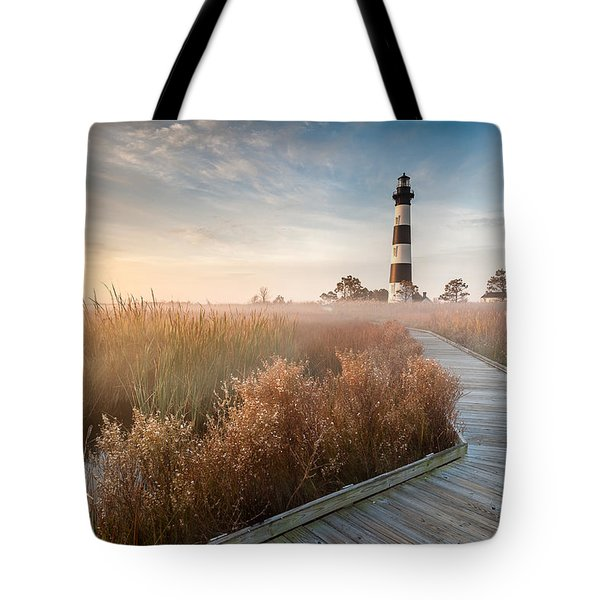 Outer Banks North Carolina Bodie Island Lighthouse Tote Bag