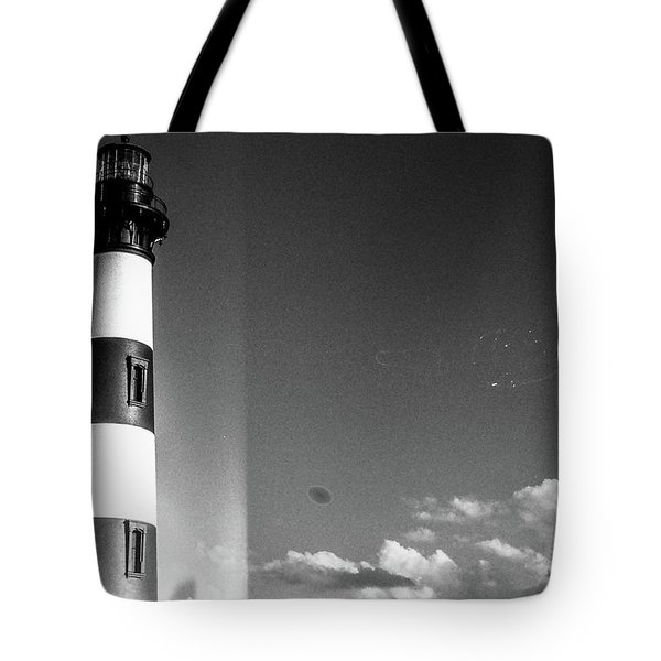 Bodie Island Lighthouse Tote Bag by David Sutton