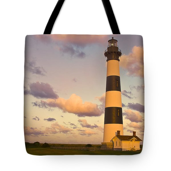 Tote Bag featuring the photograph Bodie Island Lighthouse by Ken Barrett