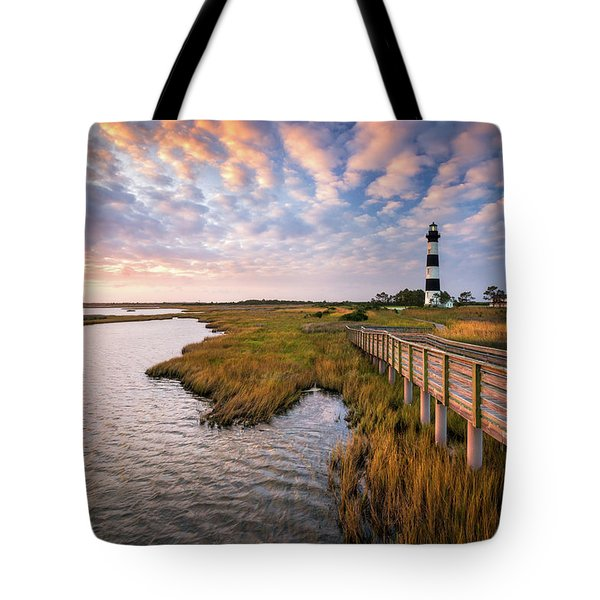 Bodie Island Lighthouse Outer Banks North Carolina Obx Nc Tote Bag