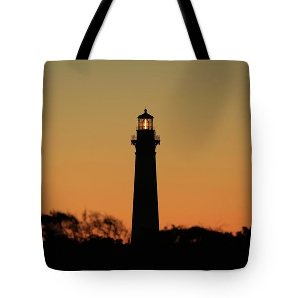 Bodie Light At Sunset Tote Bag
