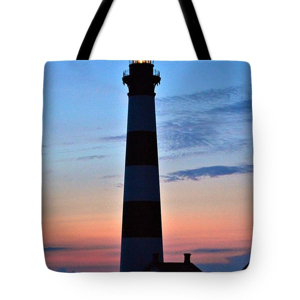 Bodie Lighthouse 7/18/16 Tote Bag