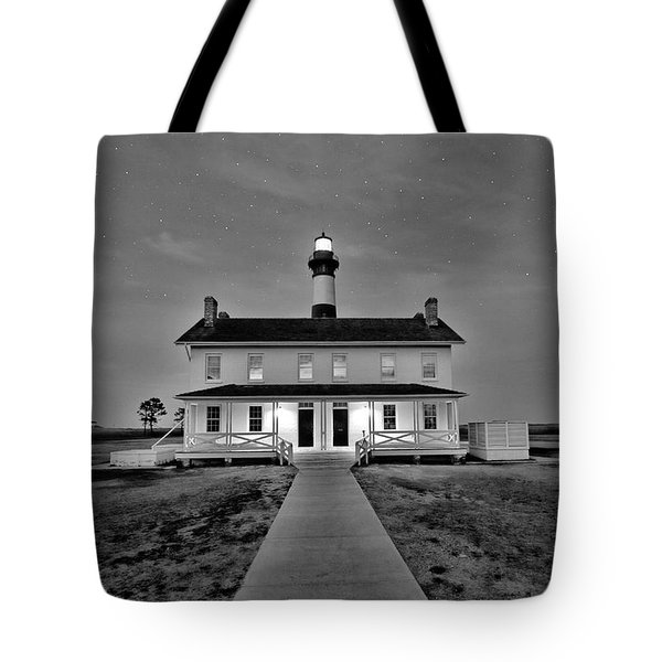 Bodie Lighthouse Night Tote Bag