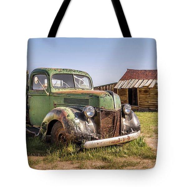 Bodie Pickup Truck Tote Bag