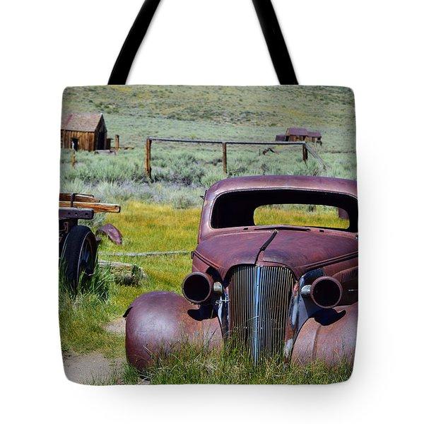 Bodie Rust Tote Bag