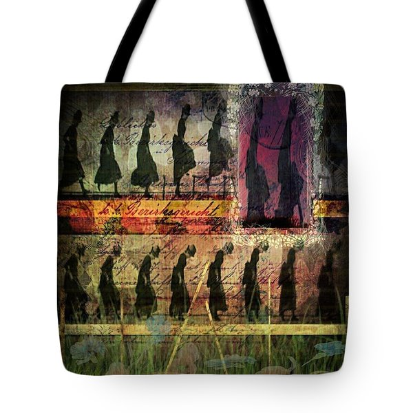 Body In Motion Tote Bag
