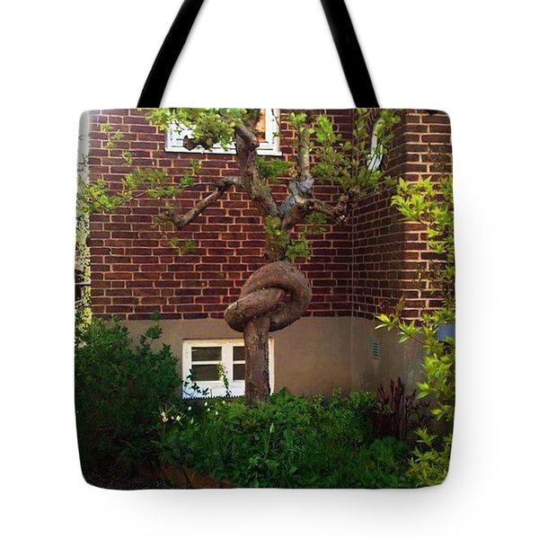Body Language Of Trees Tote Bag