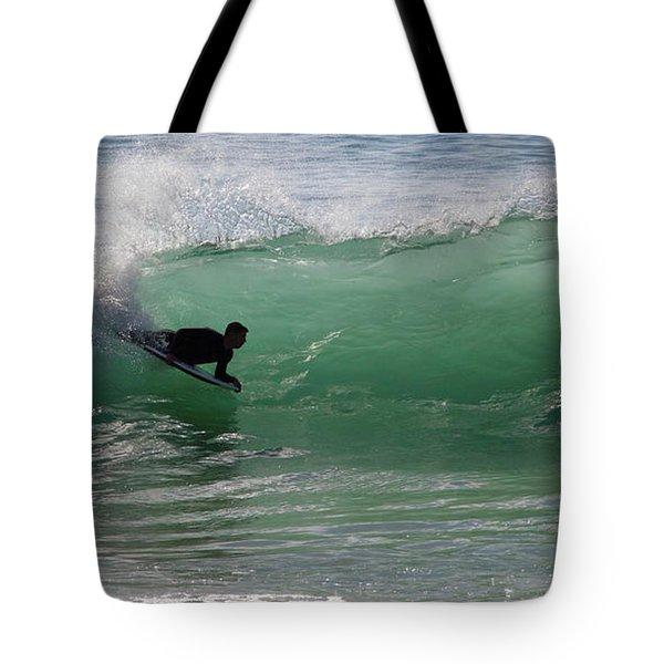 Body Surfer Tote Bag
