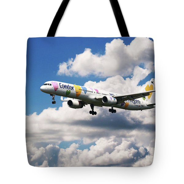Boeing 757 Condor Airlines Tote Bag