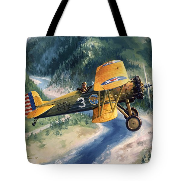 Boeing Country Tote Bag by Randy Green