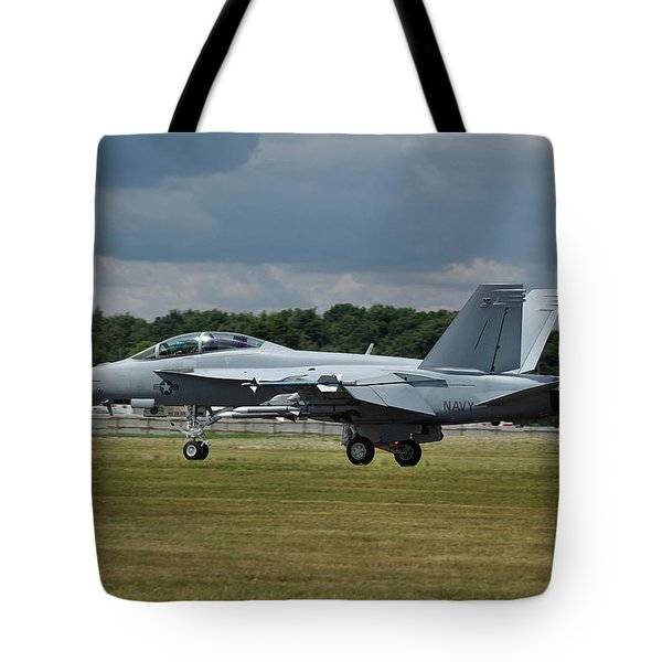 Boeing Super Hornet  Tote Bag by Tim Beach