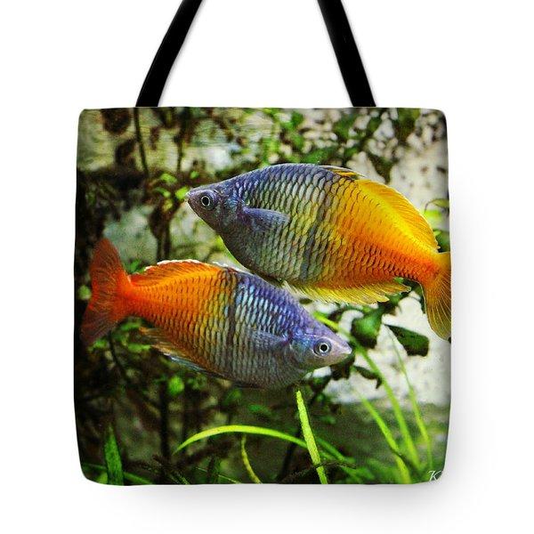 Boeseman's Rainbowfish Tote Bag