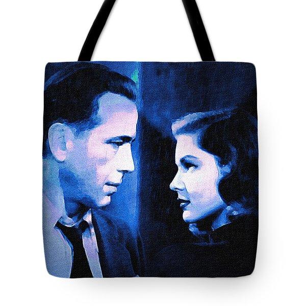 Bogart And Bacall - The Big Sleep Tote Bag