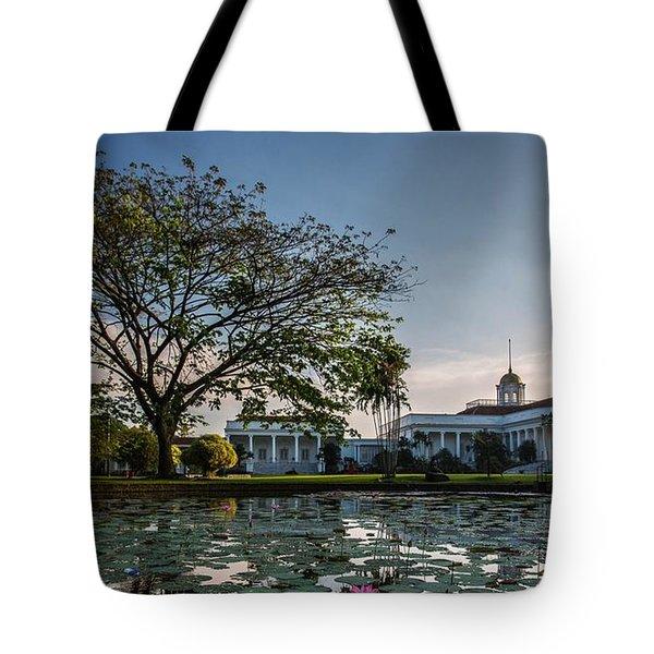 Bogor Palace Tote Bag