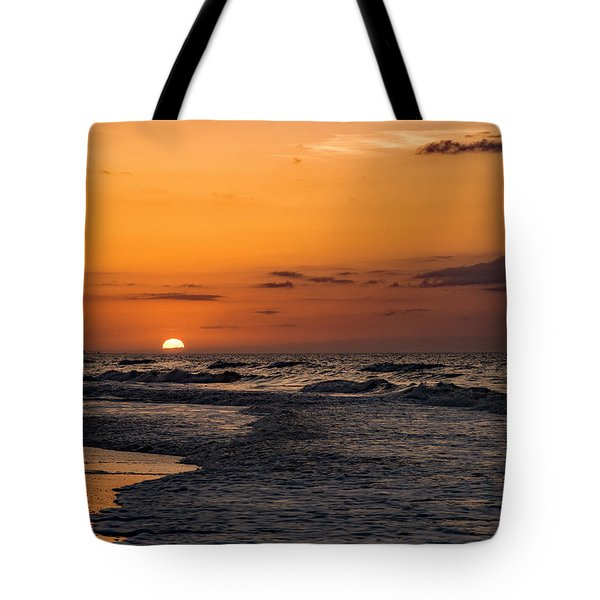 Bogue Banks Sunrise Tote Bag