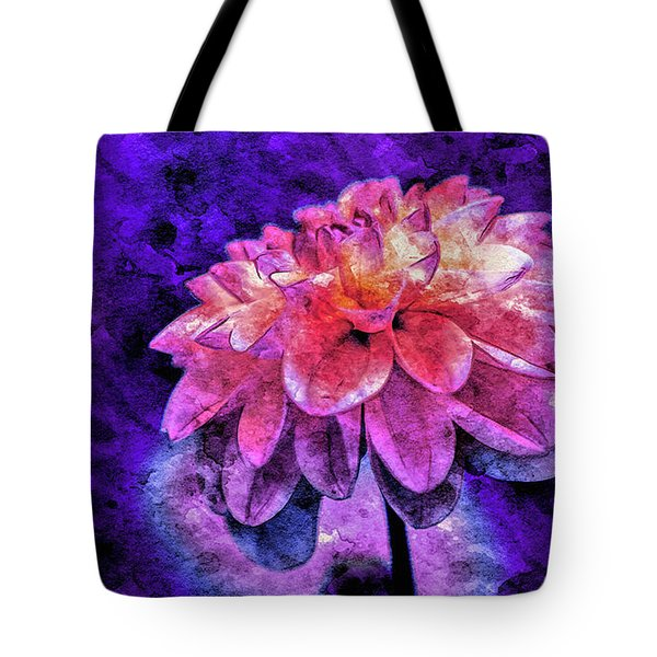 Tote Bag featuring the mixed media Bohemian Bloom by Susan Maxwell Schmidt