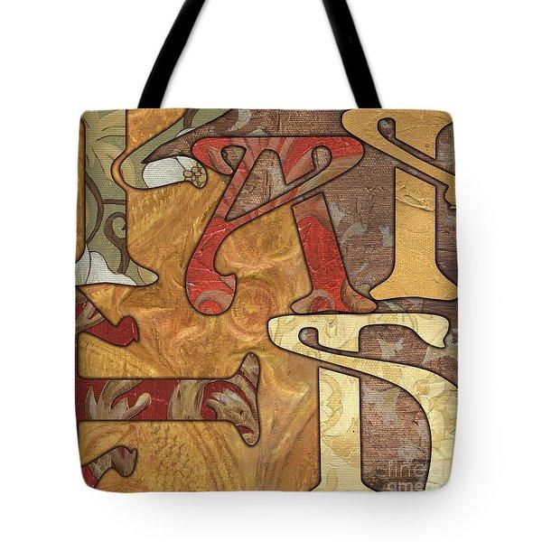 Bohemian Faith Tote Bag by Debbie DeWitt