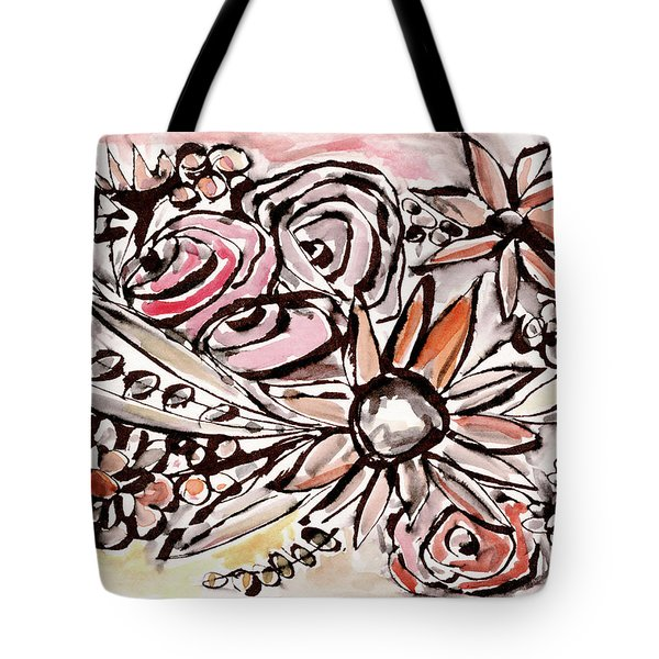 Bohemian Garden 1- Art By Linda Woods Tote Bag
