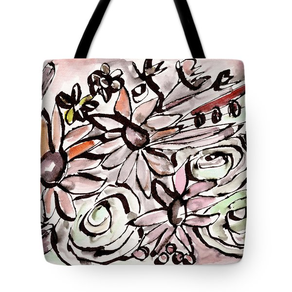Bohemian Garden 2- Art By Linda Woods Tote Bag