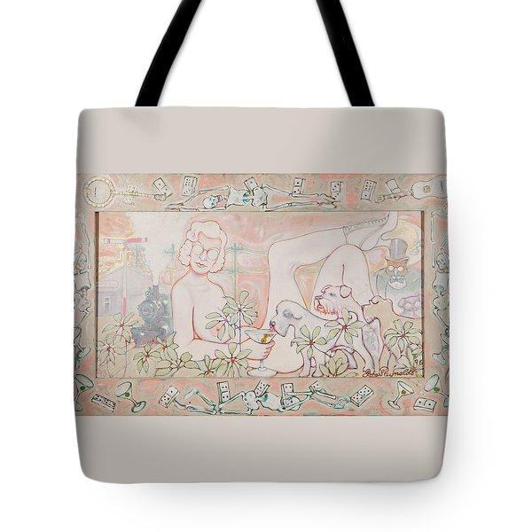 Bohemian Grove Bar Tote Bag