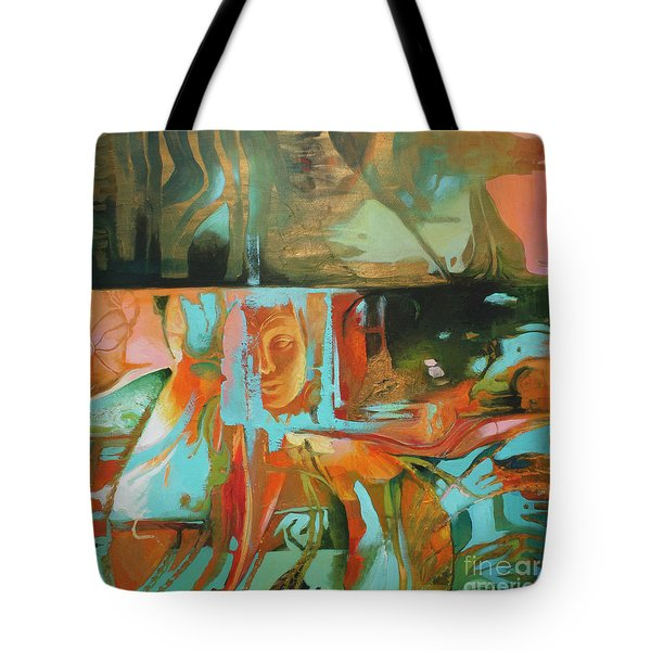 Bohemian Mix Tote Bag