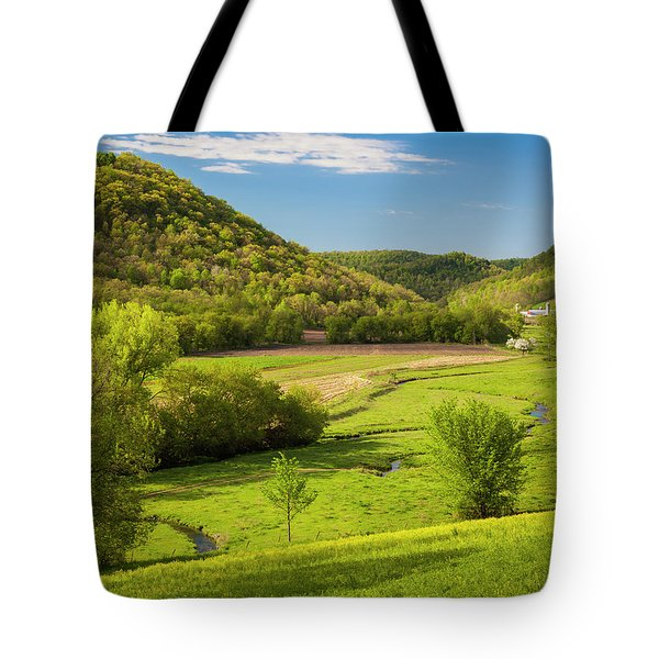 Bohemian Valley Tote Bag