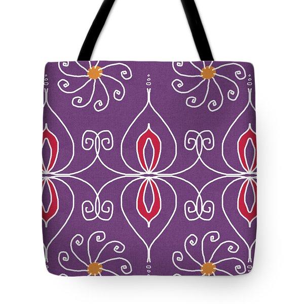 Boho Ornamental 2- Art By Linda Woods Tote Bag