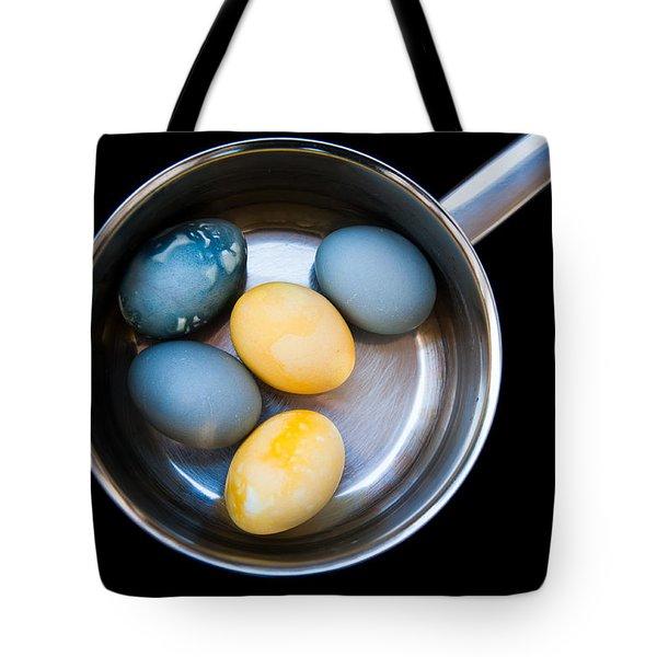 Tote Bag featuring the photograph Boiled Eggs by Ari Salmela