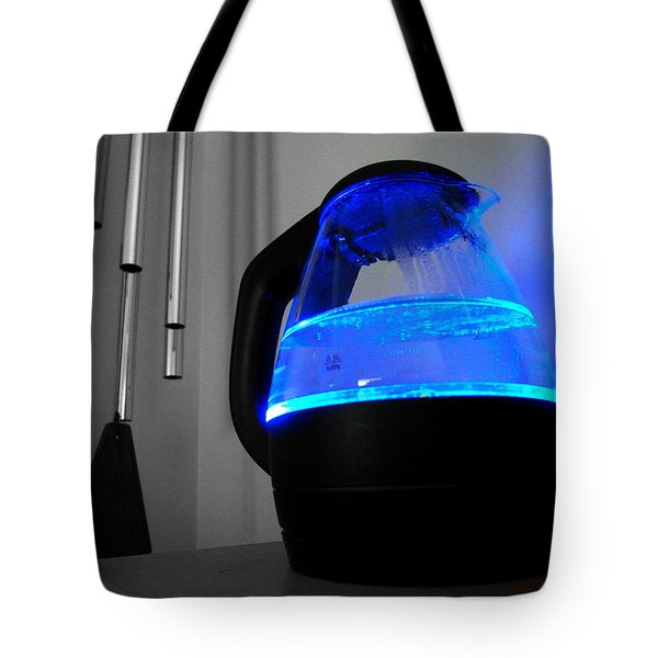 Boiling Blue Tote Bag