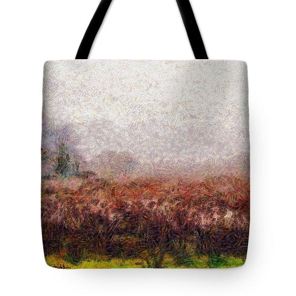Boiling Field Tote Bag by Spyder Webb