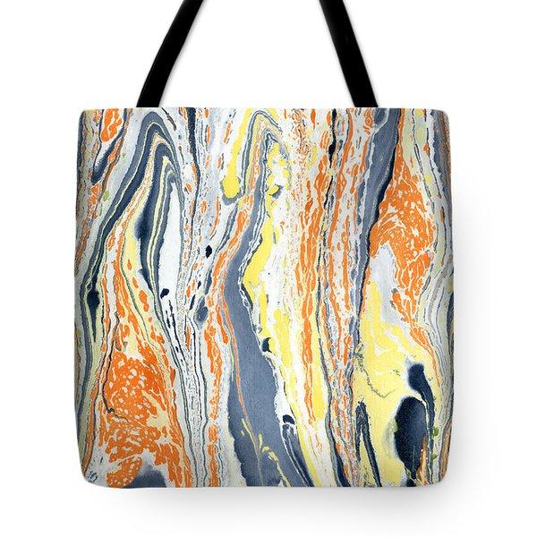 Boiling Lava Tote Bag
