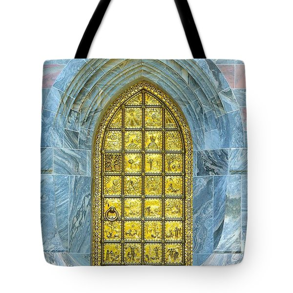 Bok Tower Entrance  Tote Bag