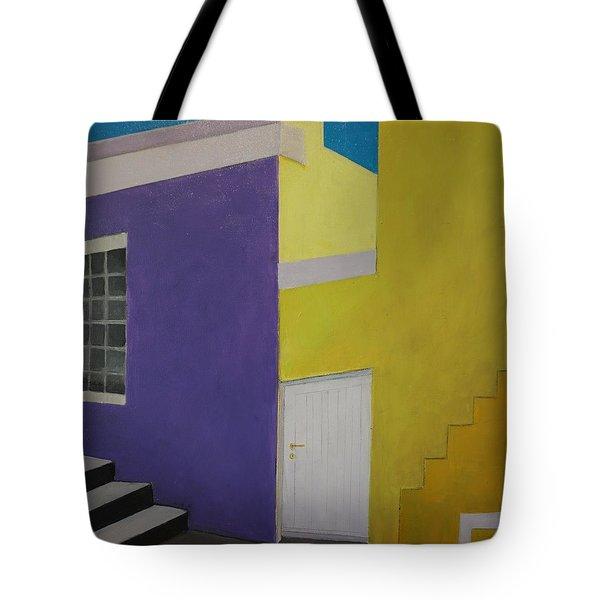 Bokaap Purple Tote Bag
