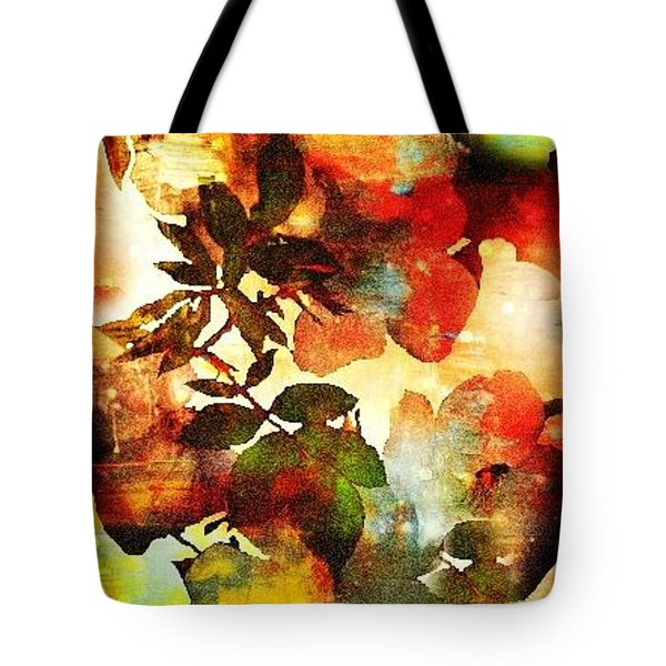 Tote Bag featuring the photograph Bokeh Blossoms by Robin Regan