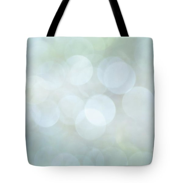 Tote Bag featuring the photograph Bokeh Clouds by Jan Bickerton
