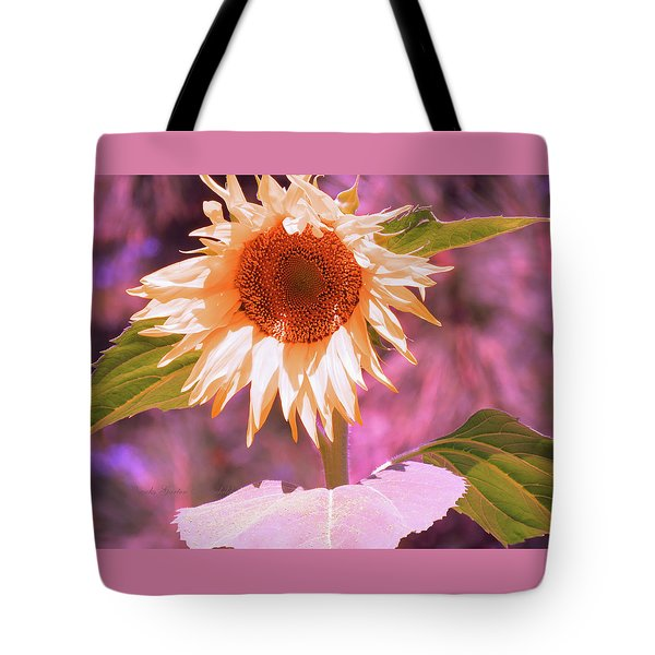 Super Star Sunflower - Sunflower Art From The Garden - Floral Photography Tote Bag