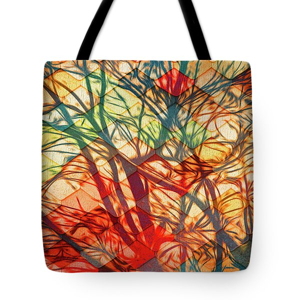 Bold And Colorful Tote Bag