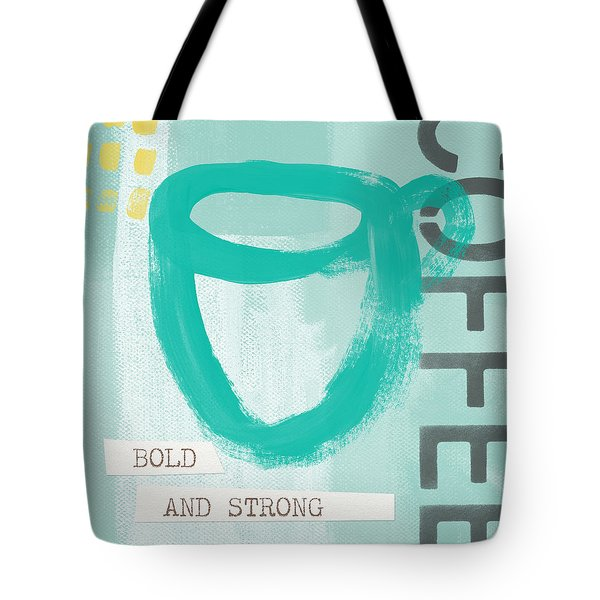 Bold And Strong In Blue- Art By Linda Woods Tote Bag