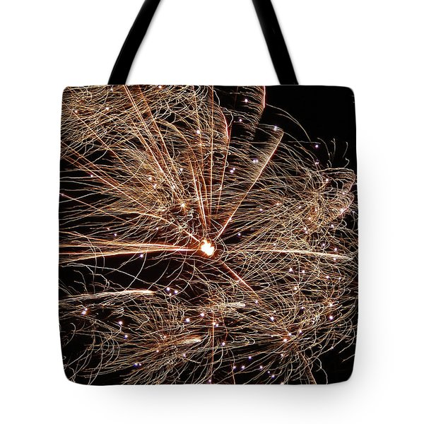 Tote Bag featuring the photograph Bold Burst #0711 by Barbara Tristan