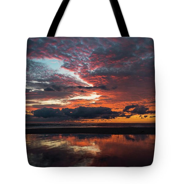 Bold Sunrise Delray Beach Florida Tote Bag