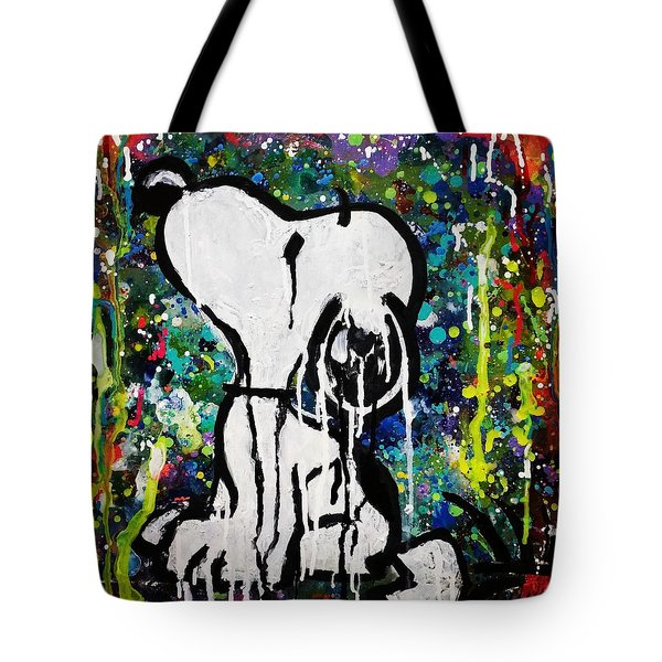 Bold.snoopy Tote Bag