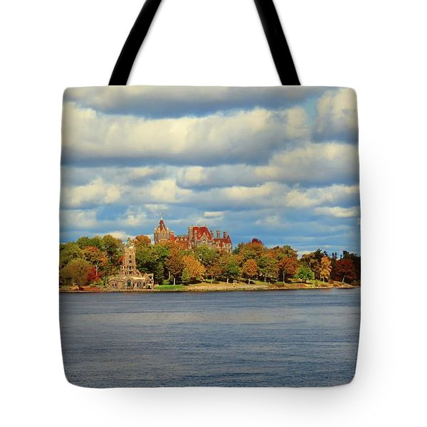 Boldt Castle Tote Bag