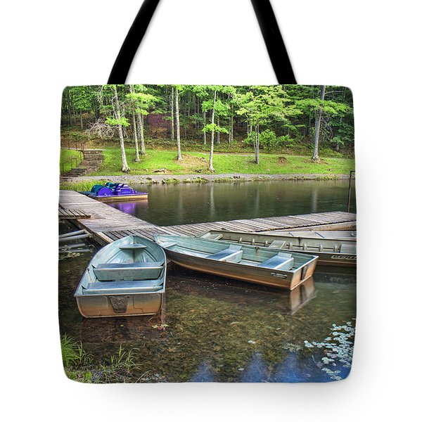 Boley Lake Tote Bag