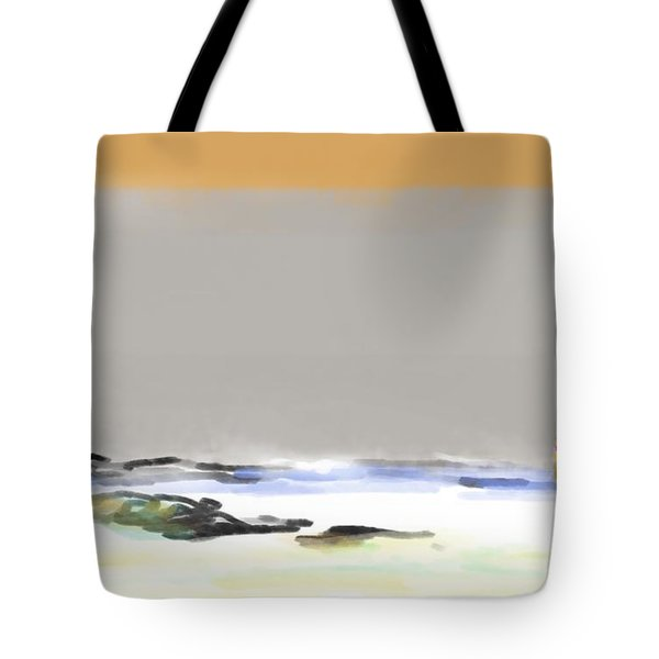Bolinas Beach Walker Tote Bag
