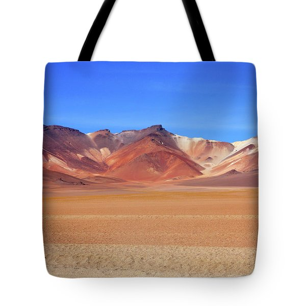 Tote Bag featuring the photograph Bolivian Altiplano  by Aidan Moran