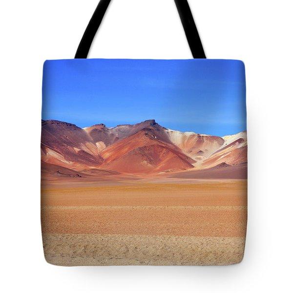 Bolivian Altiplano  Tote Bag by Aidan Moran